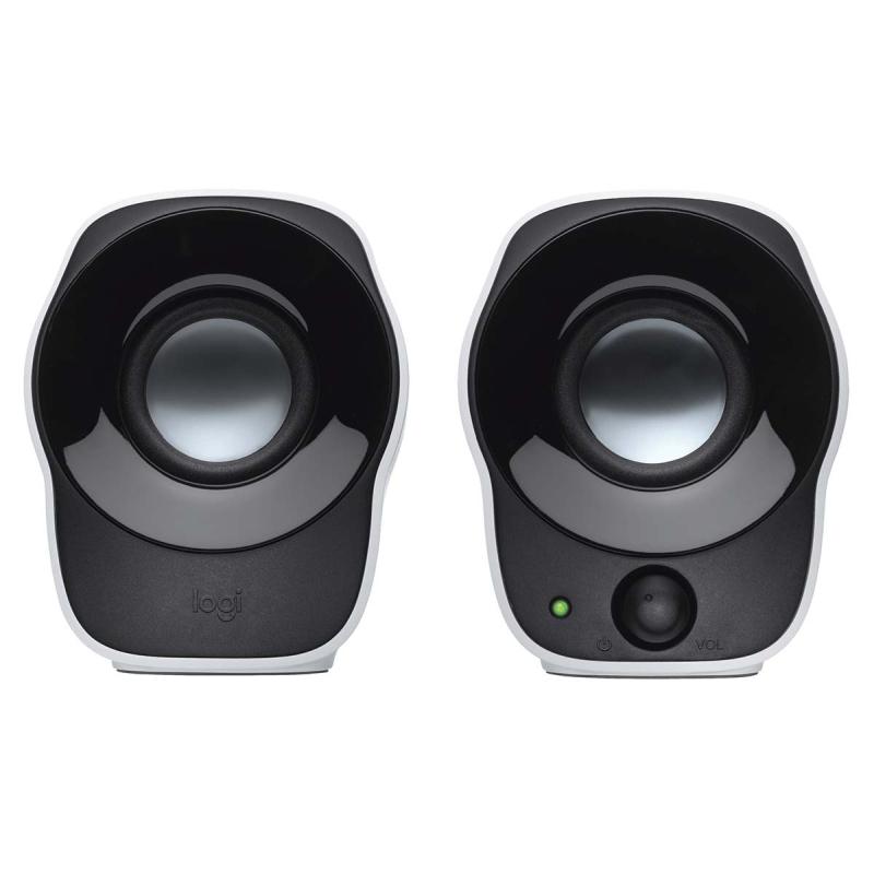 LGT-Z120 Lautsprecher 2.0 verdrahtet 3.5 mm 1.2 W Schwarz/Weiss [N ...