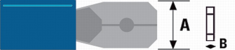 Ventilatorflügel D=230 MM 23°