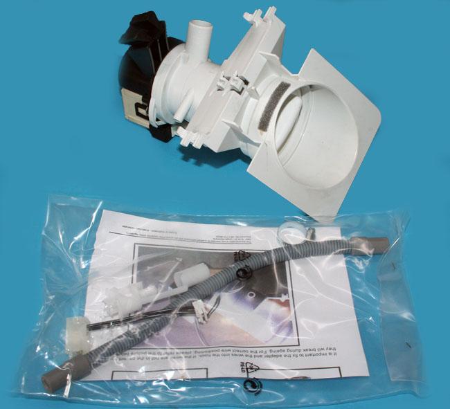 Ablaufpumpe Laugenpumpe für Waschmaschine Bauknecht 481231028144 481231018458