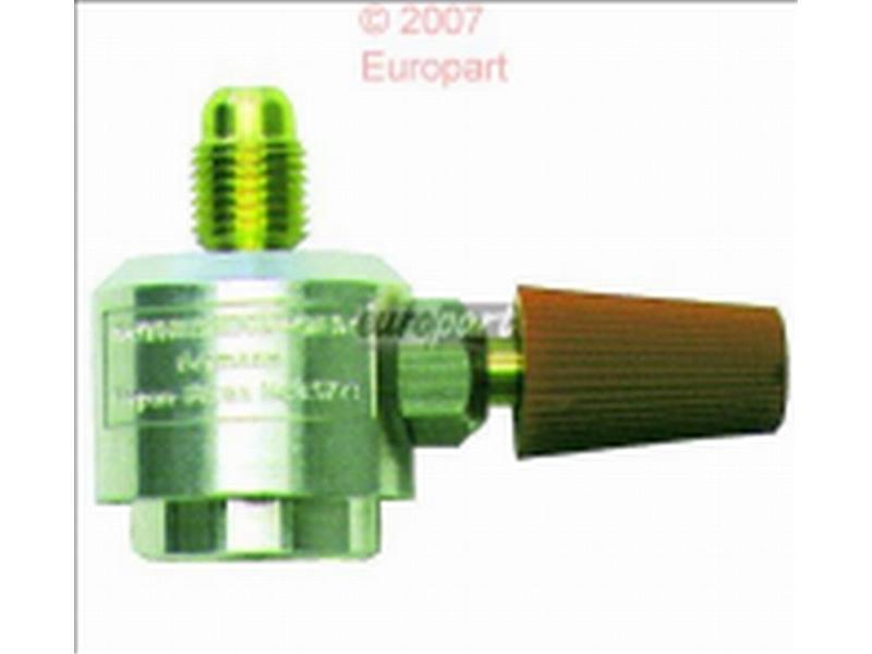 Anschlussventil Kältemittel R600A Feingewinde für Kältemitteldose R 600 A Best.